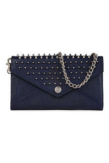 REBECCA MINKOFF Studded clutch bag