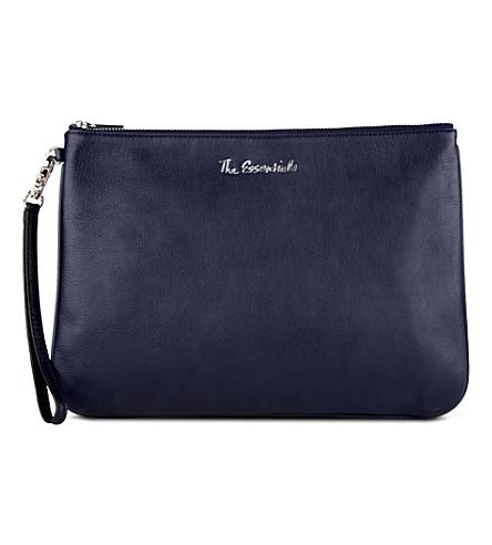 REBECCA MINKOFF Lissa leather pouch (Sapphire