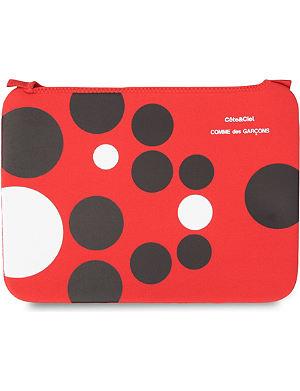 COMME DES GARCONS Dots 15 inch laptop bag