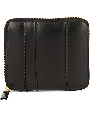 COMME DES GARCONS Zip-around spike wallet
