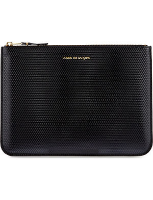 COMME DES GARCONS Luxury embossed pouch