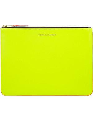 COMME DES GARCONS Super fluorescent pouch large