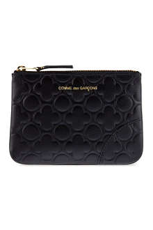 COMME DES GARCONS Embossed pouch