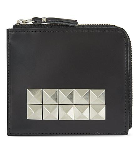 COMME DES GARCONS Studded wallet (Black