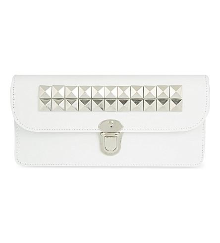COMME DES GARCONS Studded purse (White