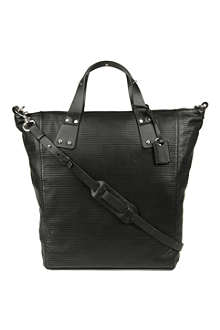 MCQ ALEXANDER MCQUEEN Stepney perforated leather tote