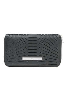 MCQ ALEXANDER MCQUEEN Slash leather wallet