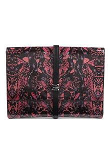 MCQ ALEXANDER MCQUEEN Bug leather document holder