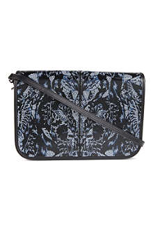 MCQ ALEXANDER MCQUEEN Bug leather cross-body bag