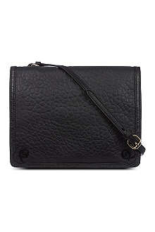 MCQ ALEXANDER MCQUEEN Soft leather cross-body bag