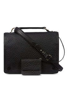 MCQ ALEXANDER MCQUEEN Soft leather satchel