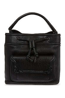 MCQ ALEXANDER MCQUEEN Engraved corner backpack