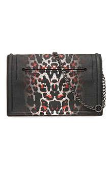 MCQ ALEXANDER MCQUEEN Leopard print shoulder bag