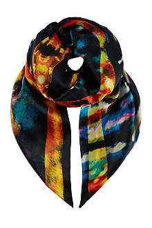 MCQ ALEXANDER MCQUEEN Blurry lights scarf