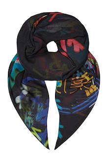 MCQ ALEXANDER MCQUEEN Hazy Night scarf