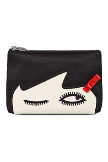 LULU GUINNESS Wink cosmetic bag