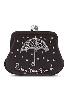 LULU GUINNESS Rainy day fund mini purse