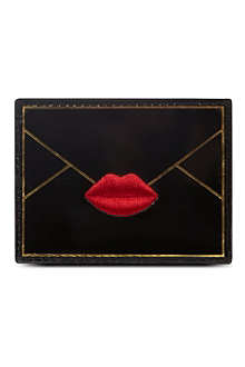 LULU GUINNESS Envelope card holder