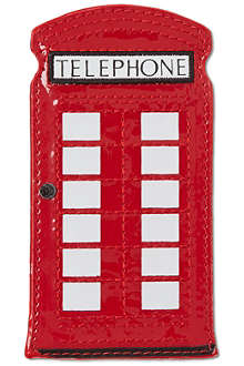 LULU GUINNESS Telephone box phone holder