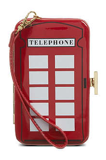 LULU GUINNESS Telephone iPhone clutch