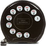LULU GUINNESS Phone dial coin purse