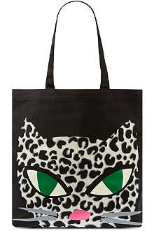 LULU GUINNESS Kooky cat shopper