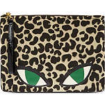 LULU GUINNESS Wildcat clutch