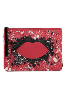 LULU GUINNESS Hug and Hold clutch