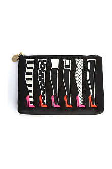 LULU GUINNESS Stockings satin pouch