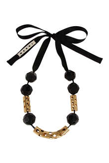 MARNI EDITION Perforated tubes necklace