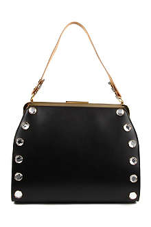 MARNI EDITION Bejewelled framed shoulder bag