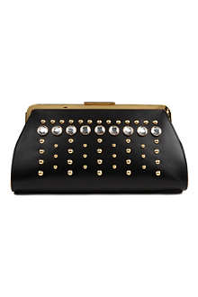 MARNI EDITION Bejewlled clutch