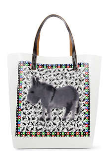 MARNI EDITION Donkey Stripe shopper
