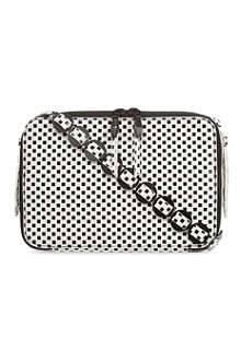 OPENING CEREMONY Sumi checked shoulder bag