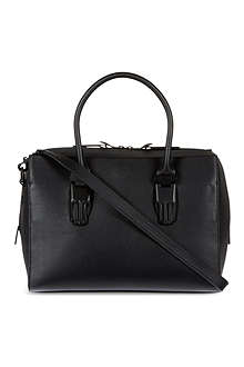 OPENING CEREMONY Lele leather bowling bag