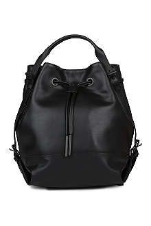 OPENING CEREMONY Izzy leather backpack