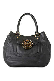 TORY BURCH Angelux Amanda leather hobo