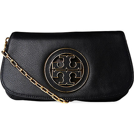 TORY BURCH Amanda clutch (Black