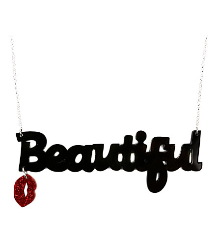 TATTY DEVINE Beautiful hemitite necklace (Black