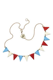 TATTY DEVINE Bunting necklace