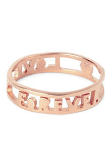 TATTY DEVINE Forever Love ring