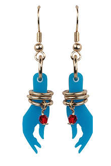 TATTY DEVINE Goddess hand earrings