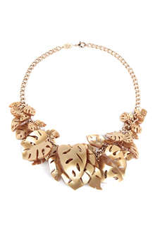 TATTY DEVINE Hot house leaves necklace