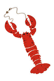 TATTY DEVINE Giant Lobster necklace