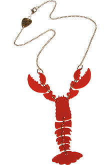 TATTY DEVINE Lobster necklace