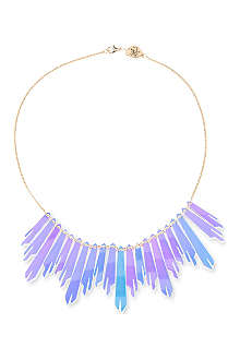 TATTY DEVINE Radiance shimmer link necklace