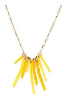 TATTY DEVINE Fries necklace