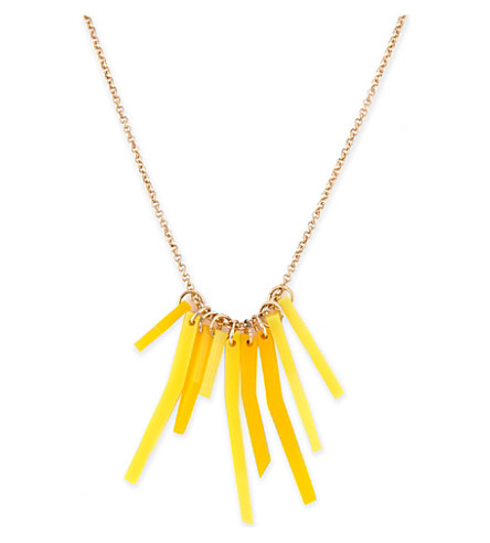 TATTY DEVINE Fries necklace (Multi