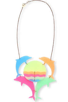 TATTY DEVINE Dolphin sunrise neck