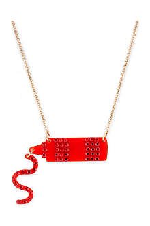 TATTY DEVINE Deluxe ketchup necklace
